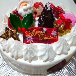 2020年のクリスマスケーキ