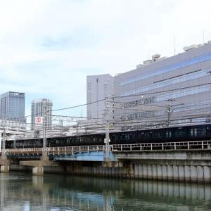 横浜駅に侵入する相鉄12000系