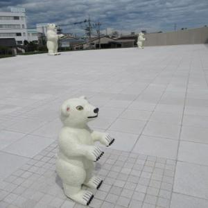 【富山】富山県美術館の三匹のしろくまと「たいめいけん」