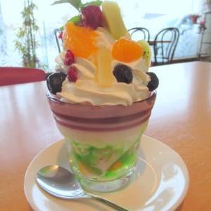 【函館】明治パーラーでプリンパフェ