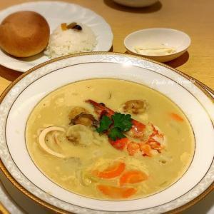 【函館】函館空港レストラン、ポルックスで『はこだて空港チャウダー』