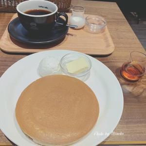 昭和を感じる喫茶店💛珈琲館で王道のトラデイショナルホットケーキとモンブラン