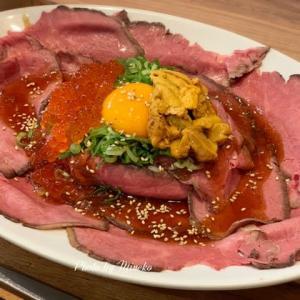 【調布】「SEIJO ISHI STYLE」 いくらとウニのローストビーフ丼とマンゴーパフェ