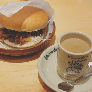 【コメダ珈琲店) 期間限定「コメ牛」とかきごーらー行脚は「キウイ&ソフト・練乳かき氷」