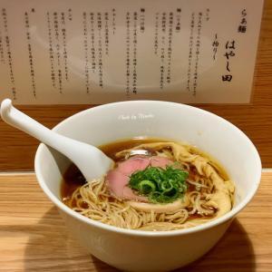 【多摩センター】先月オープンしたという、らぁ麺はやし田で「醤油らぁ麺」