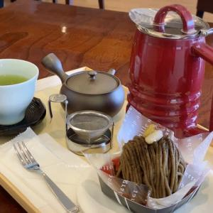 【町田市】静岡県焼津のお茶屋、長峰製茶のでエスプーマ濃い抹茶かき氷@お茶屋のお菓子工房まるまる