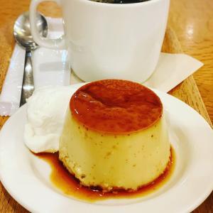 無印良品のMUJI Cafeのプリン@Café&Meal_MUJセレオ八王子店