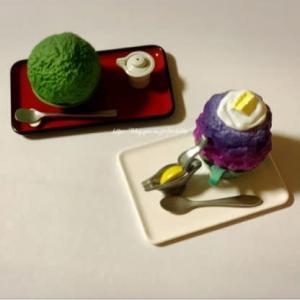 【カプセルフィギュア】名店かき氷 日本に存在する『かき氷』の名店ガチャ