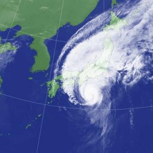 台風の直前エアタヒチヌイ出発