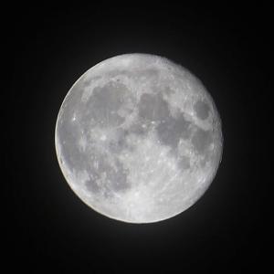 小望月(十四夜月)と十六夜の名月