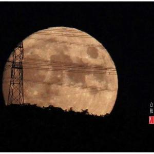 月の出/十四日月・小望月