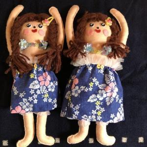 初挑戦の人形作りを記念に
