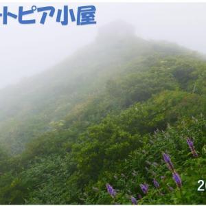 梅雨明け宣言の日の大山ユートピア小屋 動画有り(07.30)