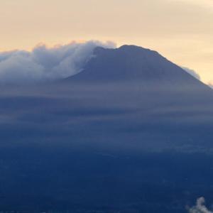 今朝の大山 9月22日