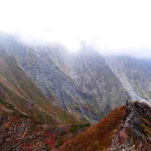 大山の紅葉情報 10月26日 ユートピアコース