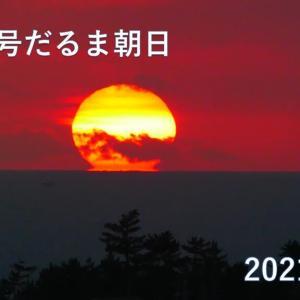 達磨太陽(朝陽) 2021年だるま朝日⑩  とイルカさん♪