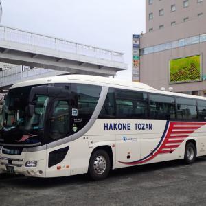 小田急線・不通区間の代行バス輸送