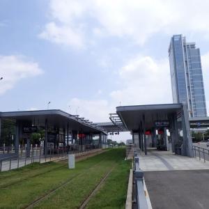 中国・武漢車都現代有軌電車~漢陽区内を走るライトレール