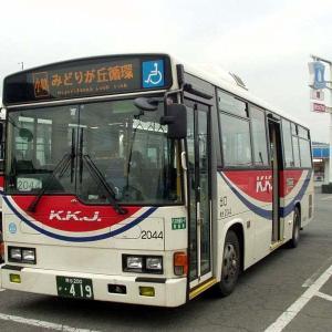 10年以上前の小川町・寄居駅周辺を運行していた川越観光&東秩父村営バス