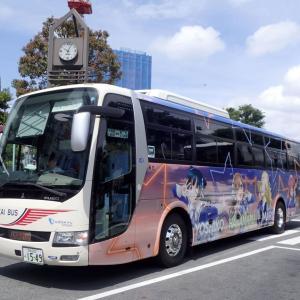 東海バスオレンジシャトル「ラブライブ!サンシャイン!!」ラッピングバス4号車