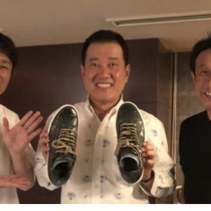 巨人・原監督「ワニ革靴」が誕プレ