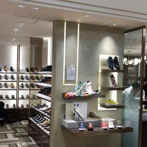 三越日本橋本店 紳士靴リニューアル その2