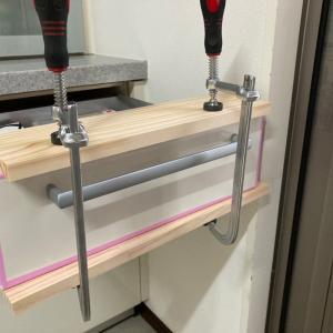 キッチン扉の張替え 2