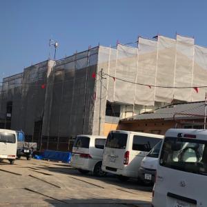 新しい上郷児童館・児童発達支援センター・発達相談室を建設中