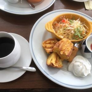 niwa cafe(ニワカフェ)のモーニング☆フレンチトースト