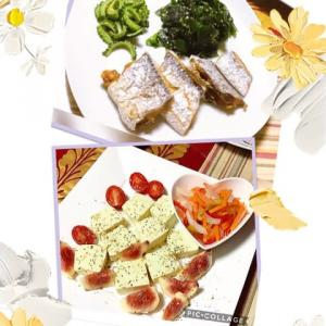 秋ですね〜🍁太刀魚と豆アジの差し入れ🐟