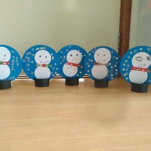 12月の制作は、雪だるまちゃん!!