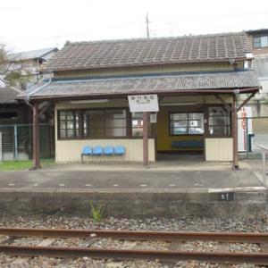 真岡鐵道折本駅→樋口駅