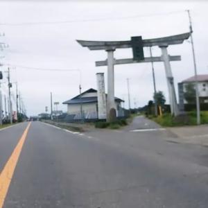 真岡鐵道樋口駅→久下田商店街→千代ヶ岡八幡宮