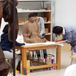 学内実習・・・①文献資料、美術資料(彫刻・絵画)の巻