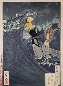 長唄「静と知盛」は、能楽『船弁慶』を歌舞伎化し、それを更に舞踊化した作品です。