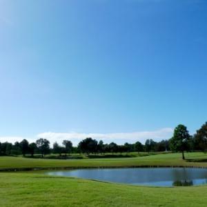 暑さで死にそうになりながらのゴルフ^^
