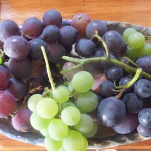 今年のブドウは何故か豊作