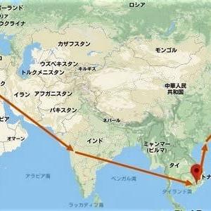 海外の空港たちー13 アジア