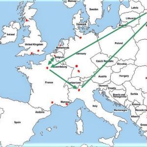 海外の空港たち-4 ブラッセル