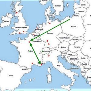 海外の空港たち– 6 コート・ダジュール(ニース)