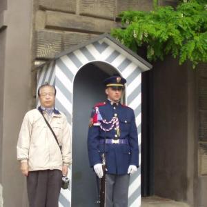 2020ブログで蘇るオランダ・ベルギー・ドイツ・チェコの旅(その11)市内観光プラハ城