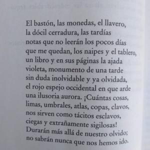 ボルヘスの詩