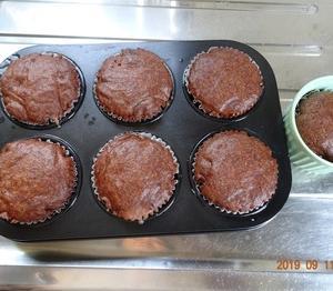 ココア蒸しケーキ