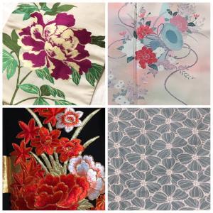 着物と花で繋がる #着物の花咲かせよう #bloomingkimono 企画!