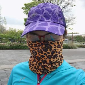 【マスク】ジョギングやウォーキング、自転車に乗る方もマスクを!