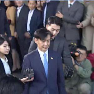 曹国(チョ・グク)法相辞任