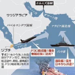 ホルムズ海峡シーレーン安全確保 日本は独自派遣