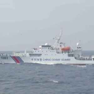 中国船の尖閣侵入、まもなく連続100日へ