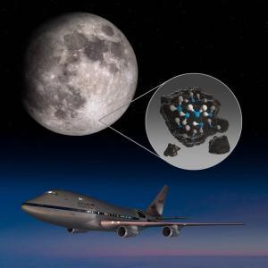 NASAのSOFIAが月の太陽に照らされた表面で水を発見