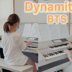 1週間でノリが変わった?!エレクトーン「Dynamite」BTS